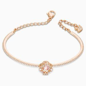Swarovski sparkling dance bangle, pink